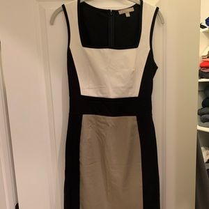 Banana Republic Colorblock Bodycon Dress